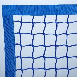 """Randverstärkung """"Extra"""": Netz mit Gurtband 100mm eingefasst"""