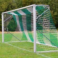 Fußballtornetz DIN EN 748 - 7,50 m x 2,50 m Tiefe: 0,80 / 1,50 m