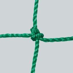 Fußballtornetz 5,15 m x 2,05 m Tiefe 1,00 / 1,00 m, PE 3 mm ø