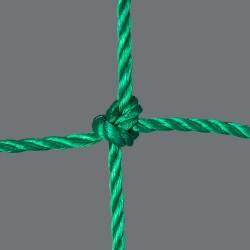Fußballtornetz 5,15 m x 2,05 m Tiefe 0,90 / 2,00 m, PE 4 mm ø