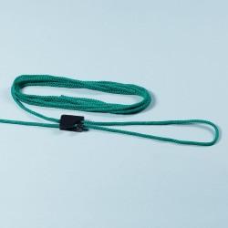 Spannleinen für Handball-Tornetze PP, 6mm, 4 m lang, Schnellspanner