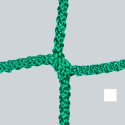 Fußballtornetz 7,50 m x 2,50 m Tiefe 0,80 / 2,00 m, PP 4 mm ø