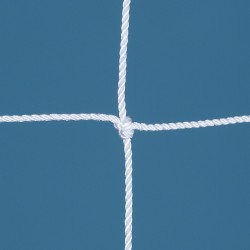 Trennetz Tennishalle 40 x 3,00 m aus Nylon 1,6 mm ø, weiß