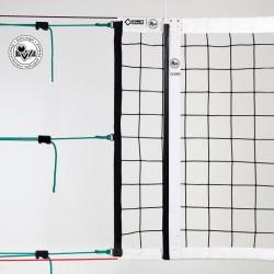 Volleyball-Turniernetz ÖVV geprüft, PP 4 mm ø