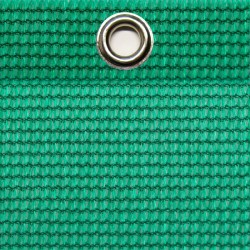 Abdeckplane luftdurchlässig 7,0 x 3,5 m, UV-Beständig, ringsum geöst