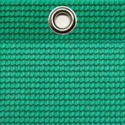 Abdeckplane luftdurchlässig 8,0 x 3,5 m, UV-Beständig, ringsum geöst