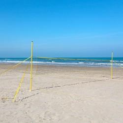 "Beach-Netzanlage Funtec """"Champ Set"""" Netz 8,5 x 1,0 m"