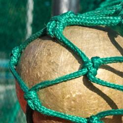 Schutznetznetz für Hammer- u. Diskuswurf nach DIN EN 1263, 25,00 m x 5,00 / 5,50 m