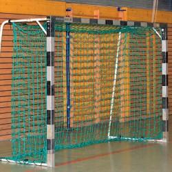 Handballtornetz 3,10 x 2,10 m Tiefe 0,80 / 1,00 m, PP 3 mm ø