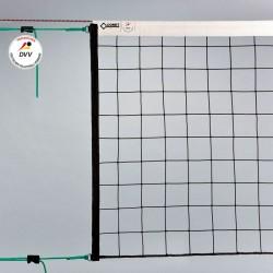 Volleyball-Turniernetz DVV geprüft, PP knotenlos 3 mm ø, mit Kevlarseil