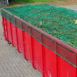 Abdecknetz 3,00 x 4,50m VDI/DEKRA für Container und Anhänger